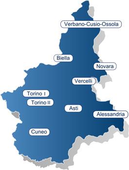 Cartina Piemonte Torino.Cartina Piemonte S I Co