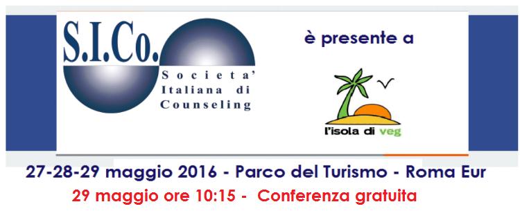 ROMA – 29 maggio 2016 – CONFERENZA GRATUITA S.I.Co. all' Isola di Veg
