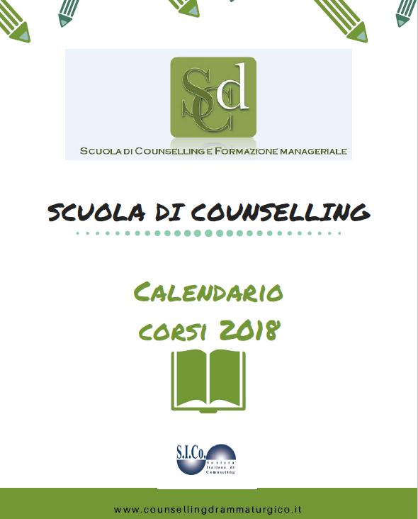 """TORINO – Dal 13 Gennaio 2018  """"SCUOLA DI COUNSELING"""" – Scuola di Counselling Drammaturgico e di Formazione Manageriale"""