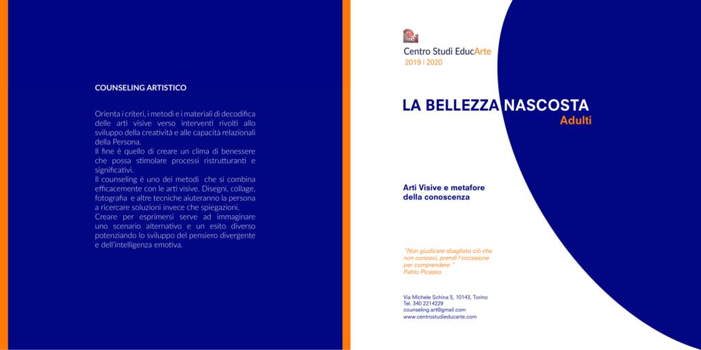 """TORINO (TO) dal 28 settembre 2019 – """" LA BELLEZZA NASCOSTA """"  – Centro Studi EducArte – Scuola di Counseling a Mediazione Artistica"""