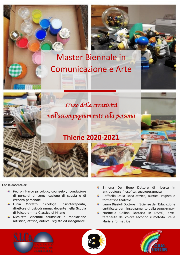 THIENE (VI) dal 25 gennaio 2020 – Master Biennale in Comunicazione e Arte – Katia Dal Molin Associazione Sottotitolo